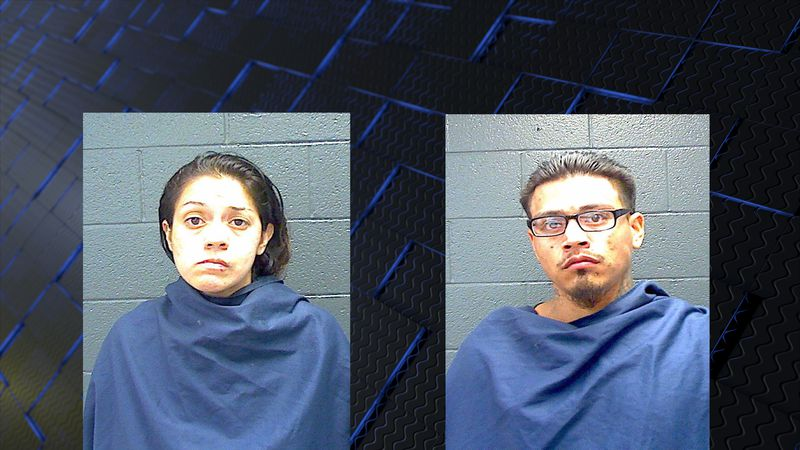 Police arrested Krystal Gonzales, 30, and Edguardo Rivera, Jr., 27, on Thursday afternoon.