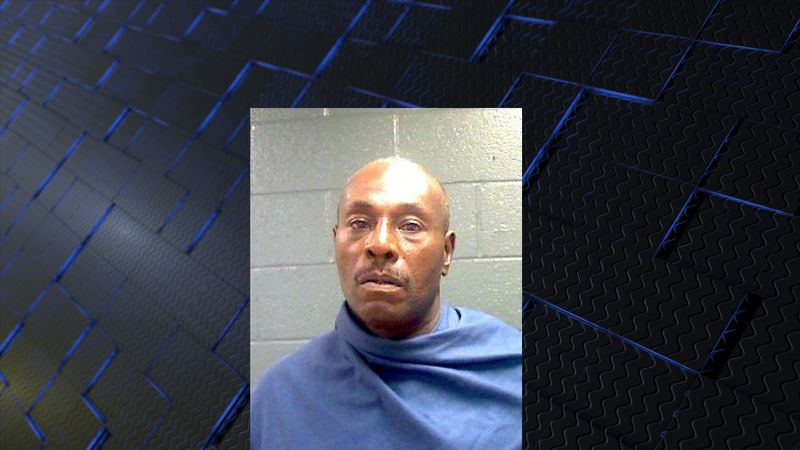 56-year-old Michael Vaughn allegedly carried a knife and threatened to kill two people.