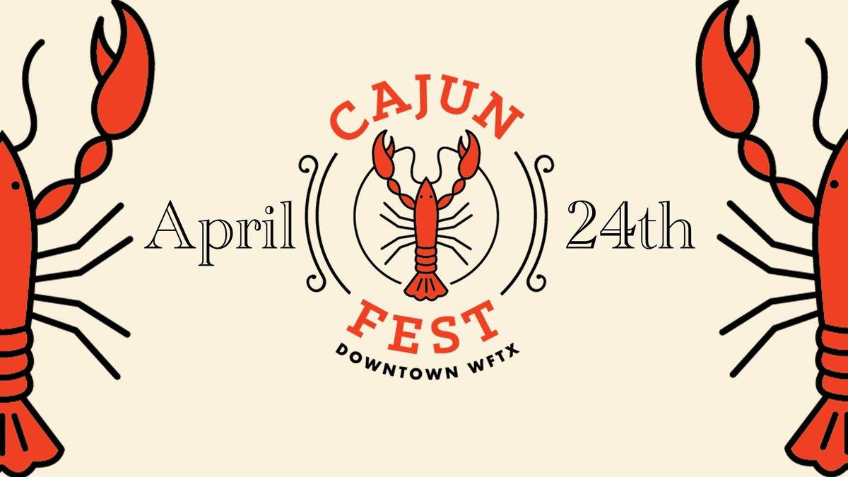 Downtown WF Development hosts Cajun Fest.