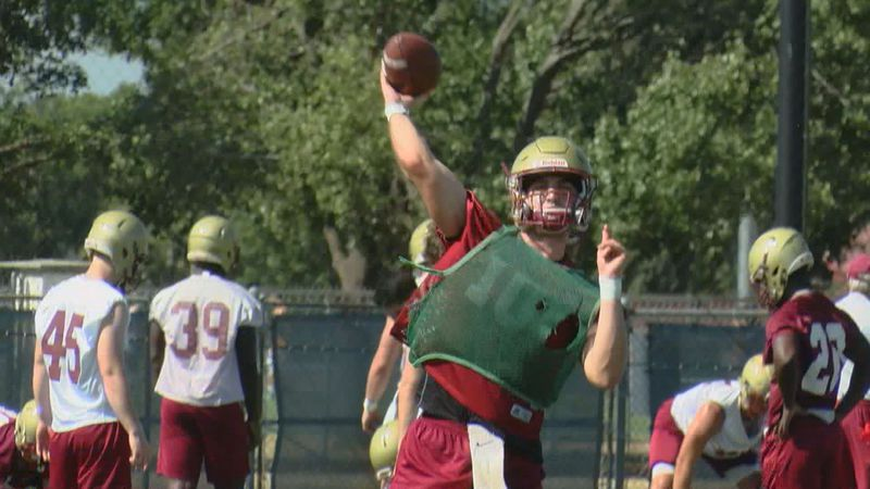 The Midwestern State football team has made adjustments to continue preparing for the 2020...