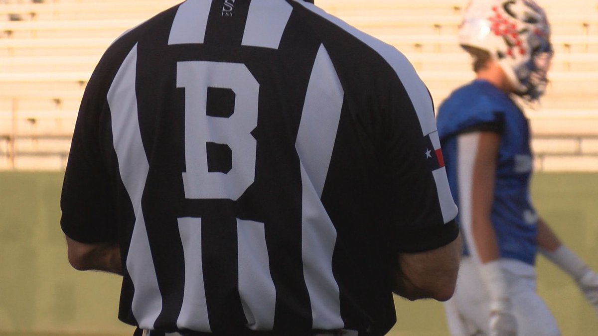 What started as an initiative to get more referees for Texas High School games is now...