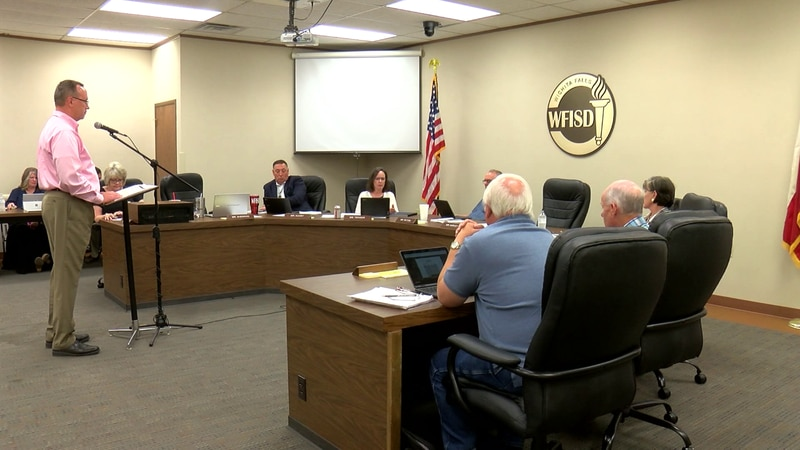 WFISD school board of trustees discussed bond and pay raises on Thursday during special session.