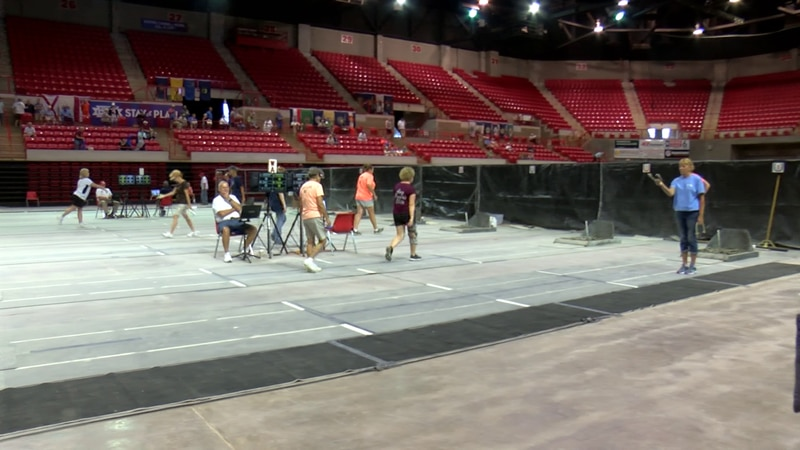 The championships will take place here at the Kay Yeager Coliseum Thursday through Saturday.