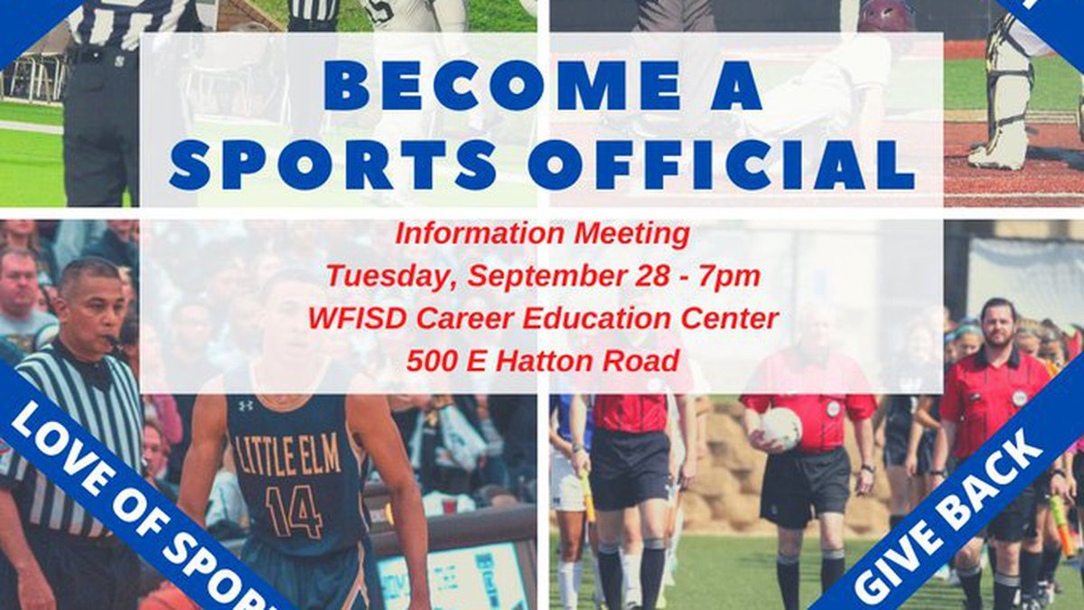 There will be an informational meeting on Sept. 28 for those interested in becoming a sports...