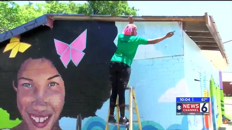 The second installment of the East Side Mural Project in Wichita Falls will soon be complete...