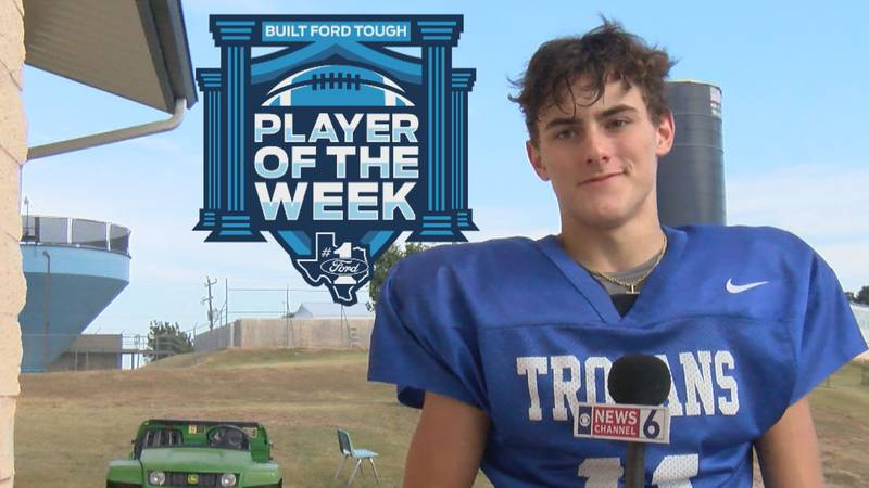 Windthorst's Logan Cope has been honored as the player in class 2A for week six.