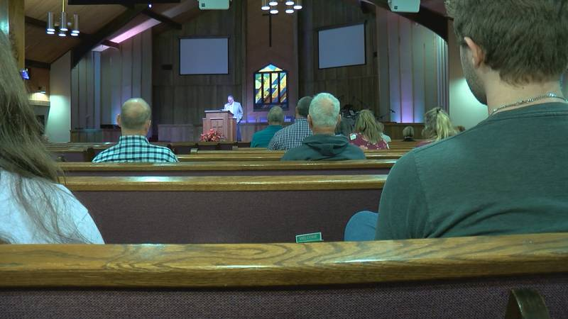 Calvary Baptist Church congregation has spent the past 69 days praising and worshipping