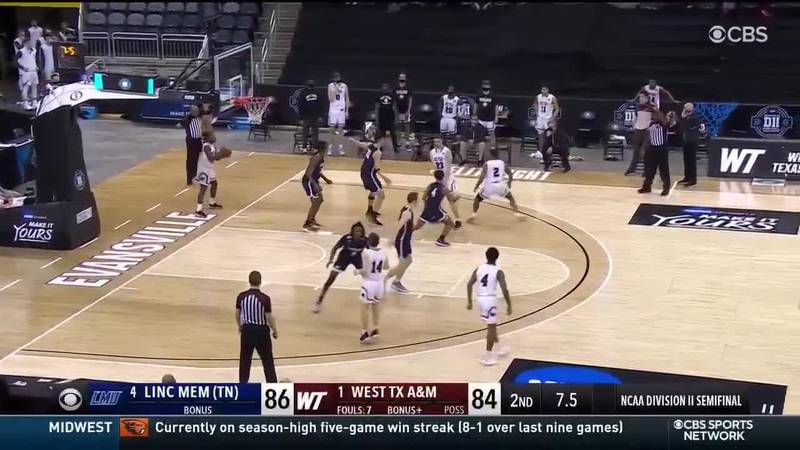 West Texas A&M hits buzzer beater