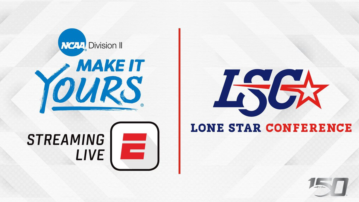 The Lone Star Conference is partnering with ESPN to have two conference matchups featured as...