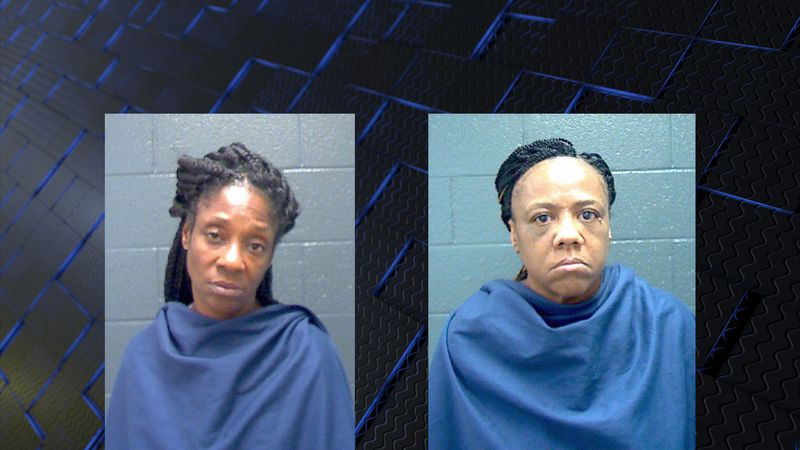 47-year-old Gail McCoy and 56-year-old Lisa Alberty were arrested for Theft.