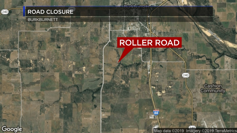 A section of Roller Road will close next Monday.