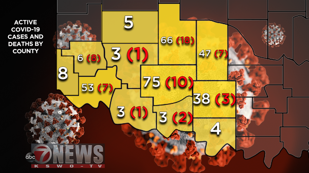The 11 new deaths bring the state's total since March to 638.
